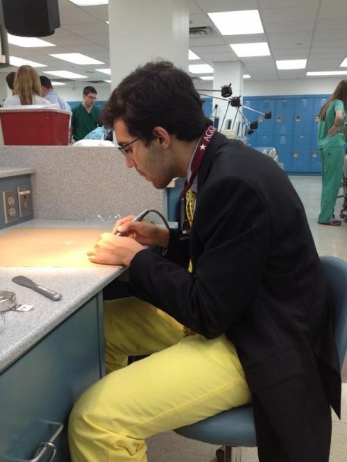 Post-grad fratting at Baylor College of Dentistry. TFM.