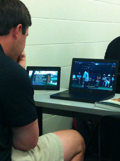 The Master's didn't take a break for class, and neither did I. TFM.
