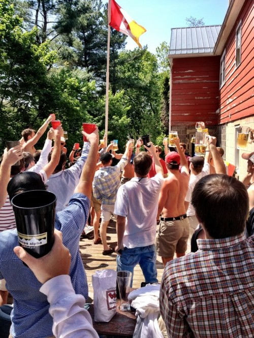 A toast to the great bald eagle. TFM.