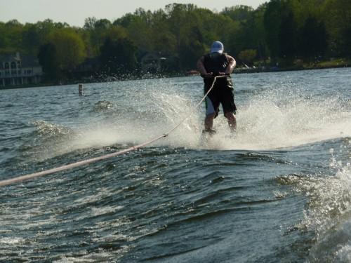 Backwards frat hat + backwards waterskiing = TFTC