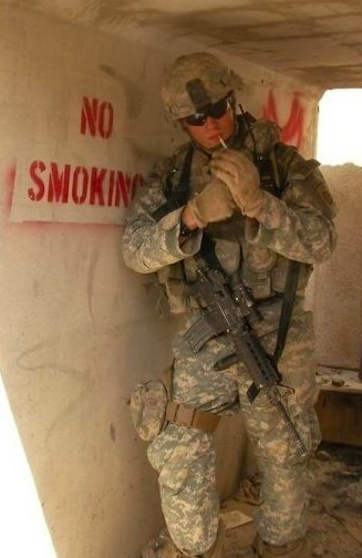 No Smoking. TFM.