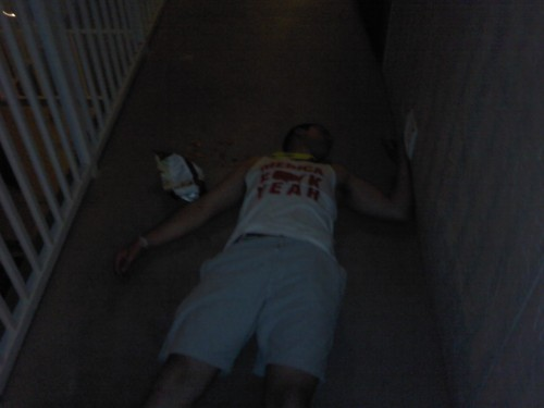 'Merica passed out in Gulf Shores. TFM.
