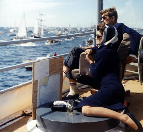 JFK being JFK. TFM.