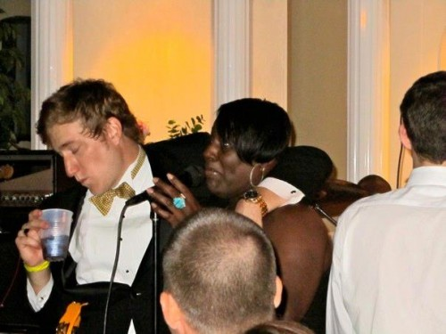 This guy giving zilch fucks at formal. TFM.
