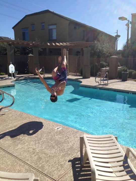The backflip chug. TFM.