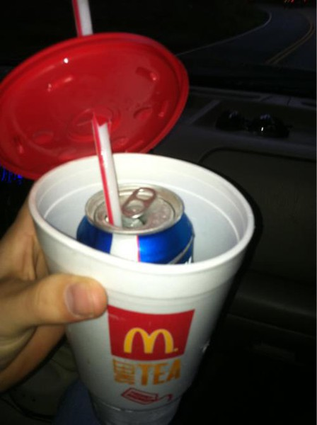 Finding crafty new ways to drink anytime, anywhere. TFM.