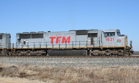 This train. TFM.