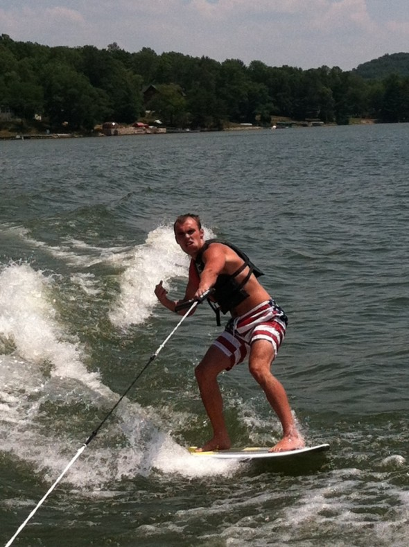 Water sports and a fat chew. TFM.