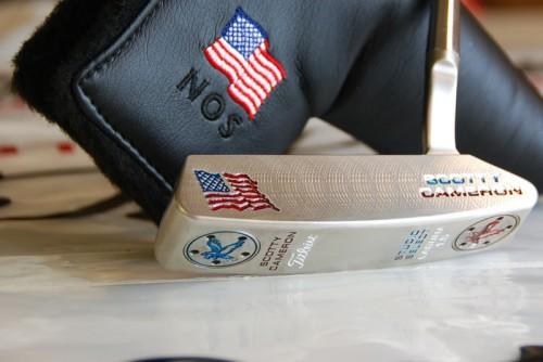 Custom USA Scotty Cameron. TFM.