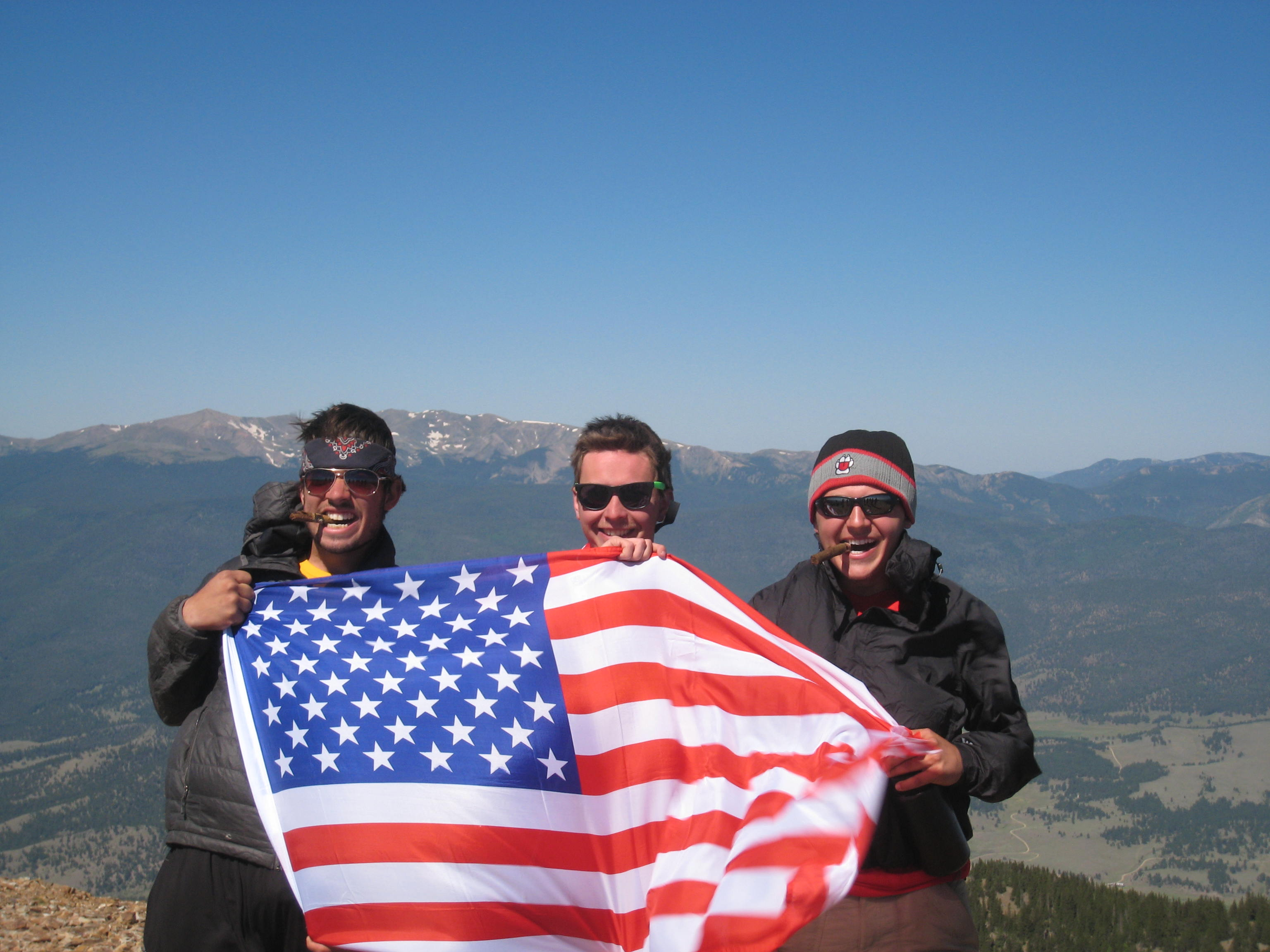 Cigars, Mountains, and America. TFM.