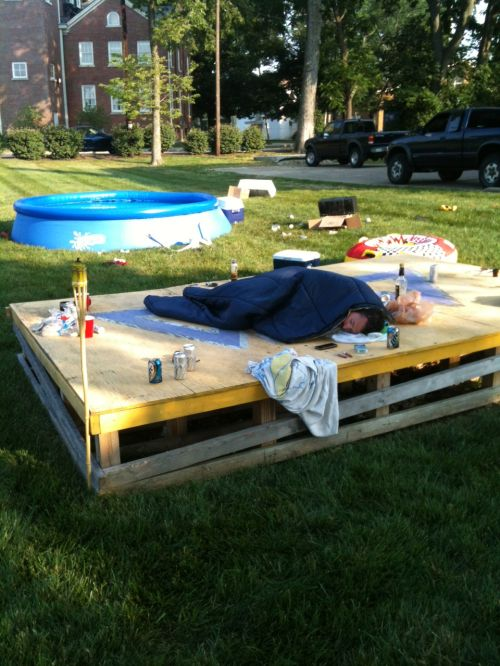The casual pass-out. TFM.