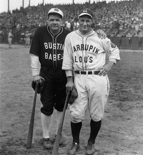 "The Great Bambino ""bustin babes."" TFM."
