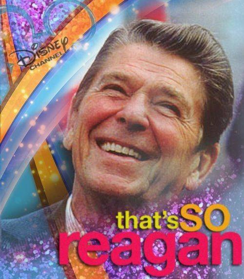 That's so Reagan. TFM.