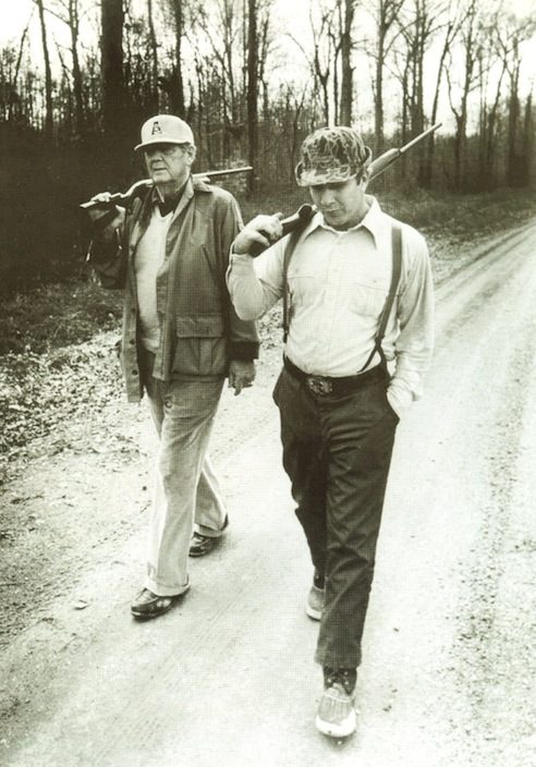 Bear Bryant and Pat Dye. Roll Tide War Eagle. TFM.