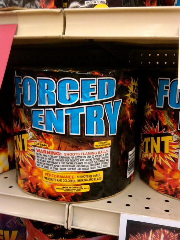 Forced Entry. TFM.