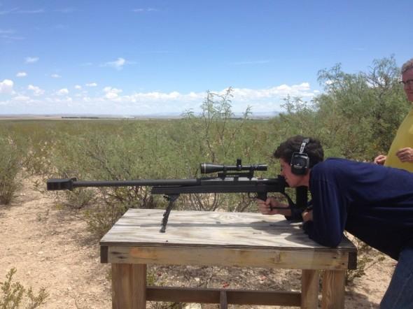 We shoot the big guns here in America! TFM.