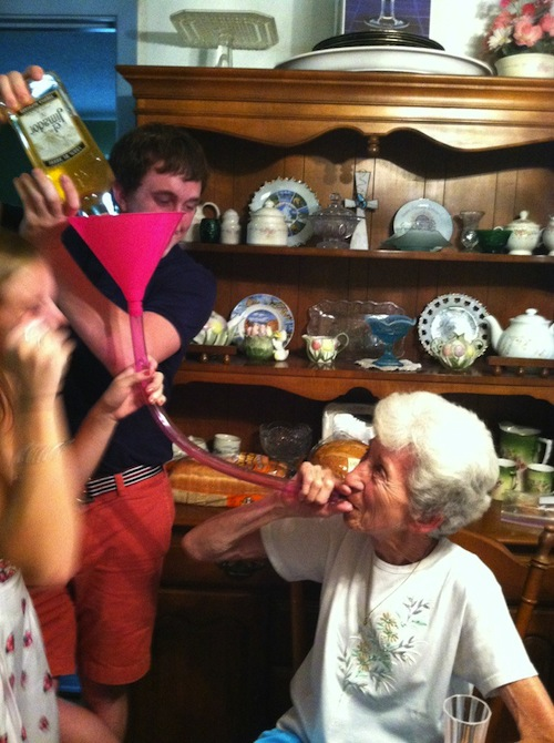 Grandma rages harder than any of you. TFM.