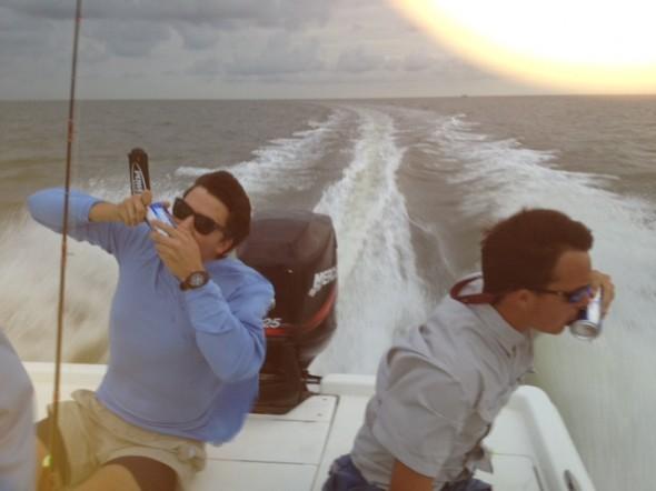 6:00am boat ride. TFM.