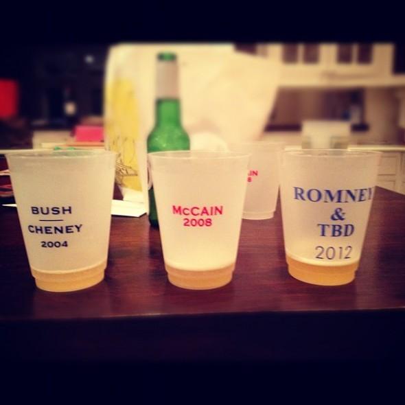 Republican flip cup. TFM.