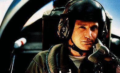 Bill Pullman taking time off as the President to show the aliens who's boss in Independence Day. TFM.