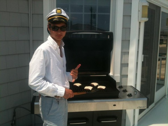 The only lunch a Rowdy Gentleman will ever make for himself. TFM.