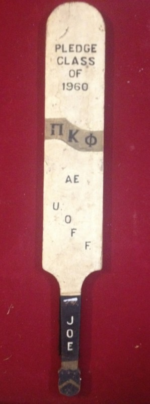 1960's hazing instrument of choice. TFM.
