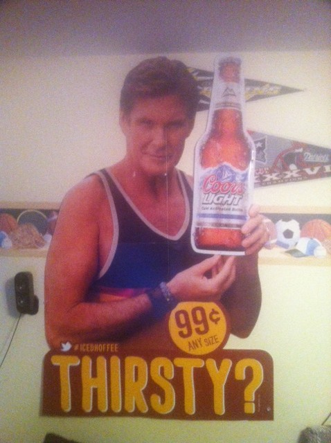 The Hoff. TFM.