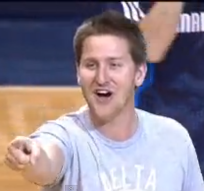 TFM App Creator Lights It Up at Mavs Game
