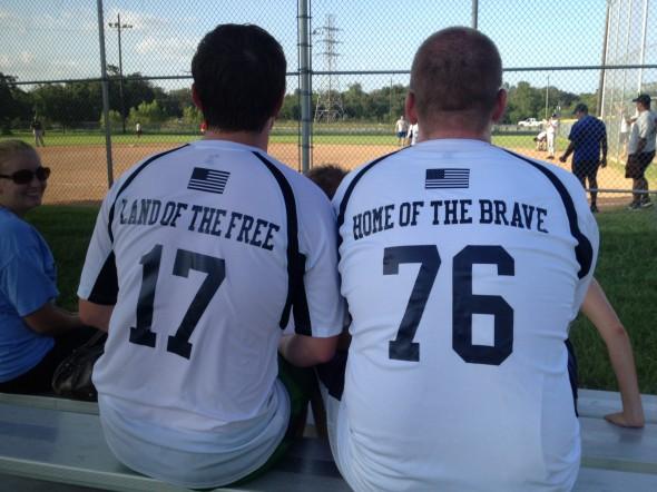New softball jerseys. TFM.