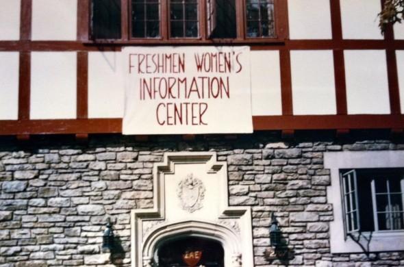 Freshman Women's Information Center. TFM.