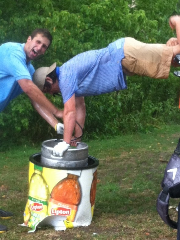 Now this is how you golf. TFM.