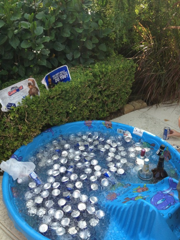 Made good use of the ol' kiddy pool. TFM.