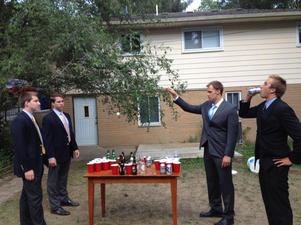 Keeping your pong game classy. TFM.