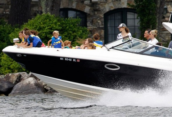 Mitt's boat. TFM.