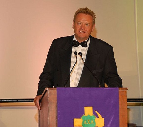 Woody Paige being your fraternity's McCoy. TFTC.
