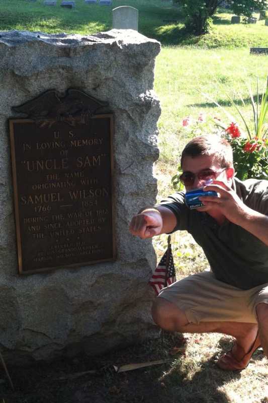 Uncle Sam, this Bud's for you. TFM.
