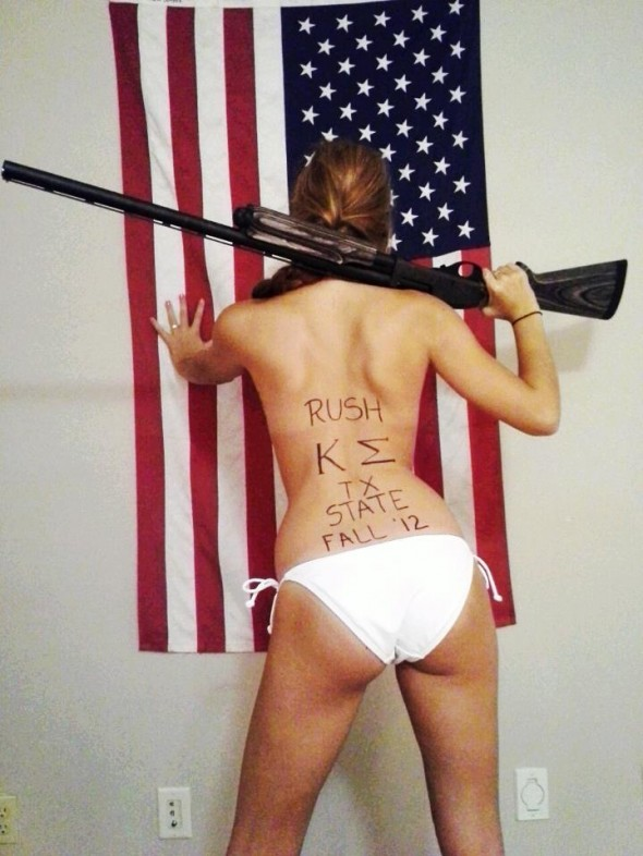 Guns, America and Ass. TFM.