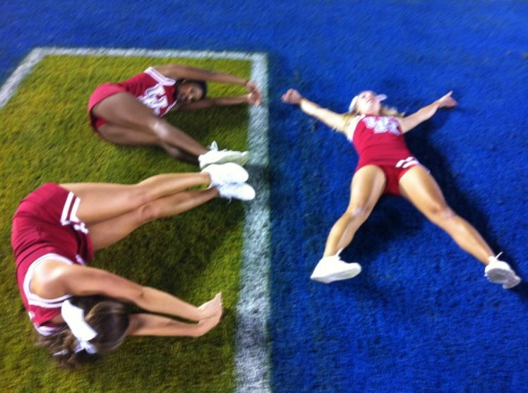 Sweethearts leaving it all on the field. TFM.