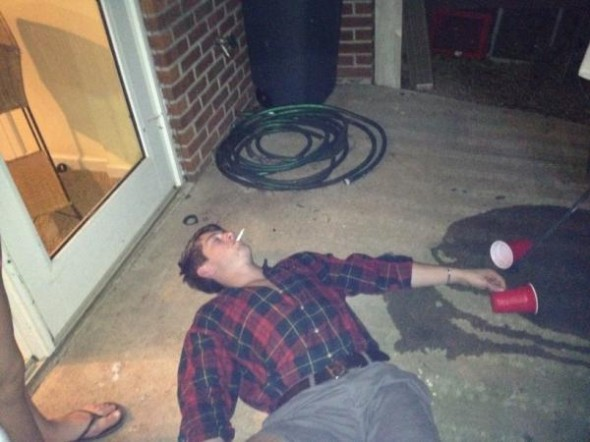That one last cig before passing out. TFM.