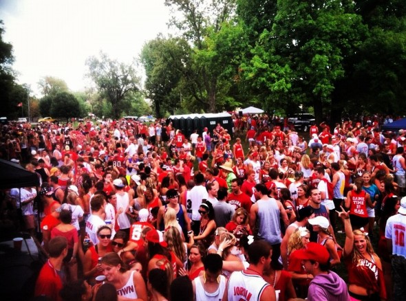 """""""No handles"""" policy at IU did not change a thing. TFM."""