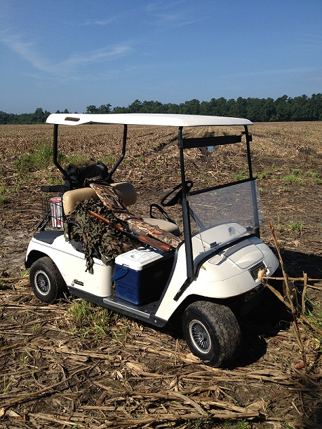 It also doubles as a gun caddy in the dove field. TFM.