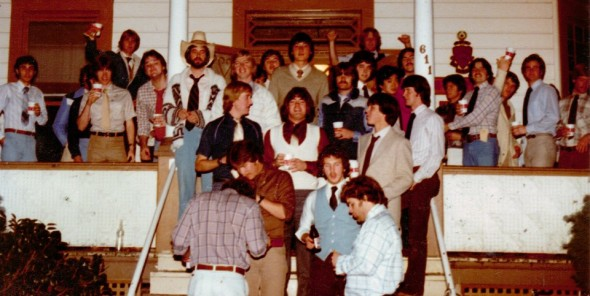 Found a picture of Dad's house in 1980. TFM.