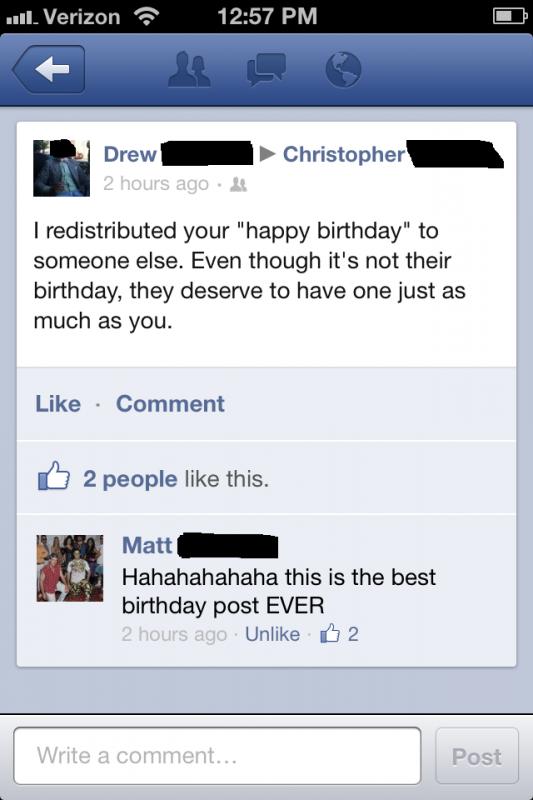 Crushing liberals on their birthdays. TFM.