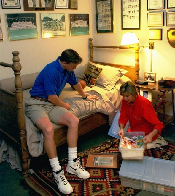 Peyton Manning's shorts, 1996. TFM.