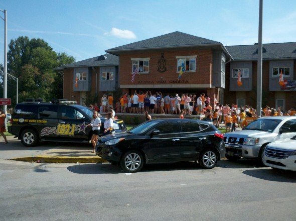 Raging balls on gameday. TFM.