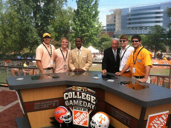 VIP passes to College GameDay in the SEC. TFM.