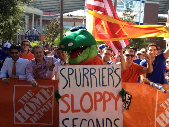 Spurrier's sloppy seconds. TFM.