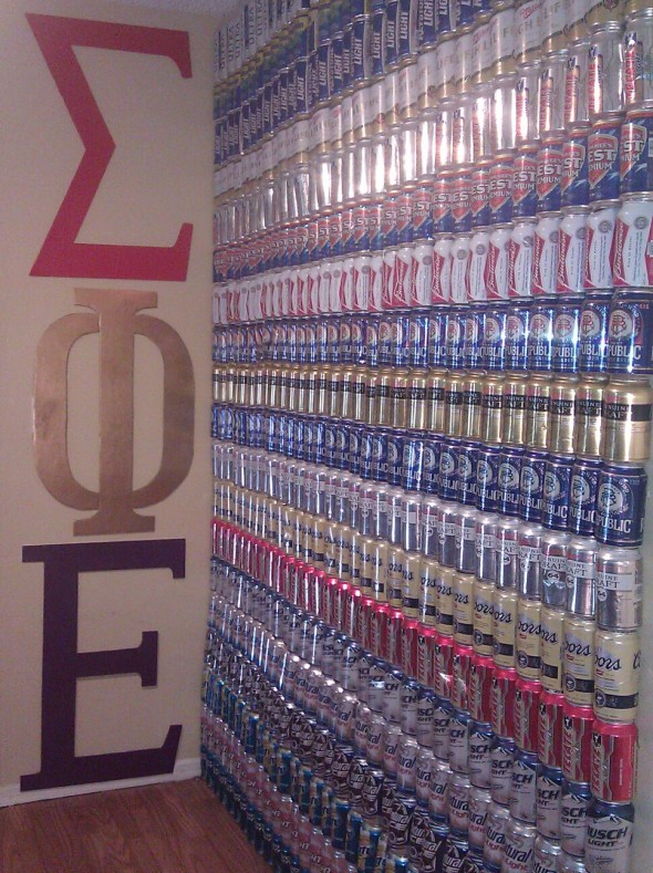 The beer wall. TFM.