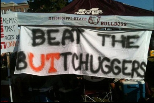 Beat the buttchuggers. TFM.