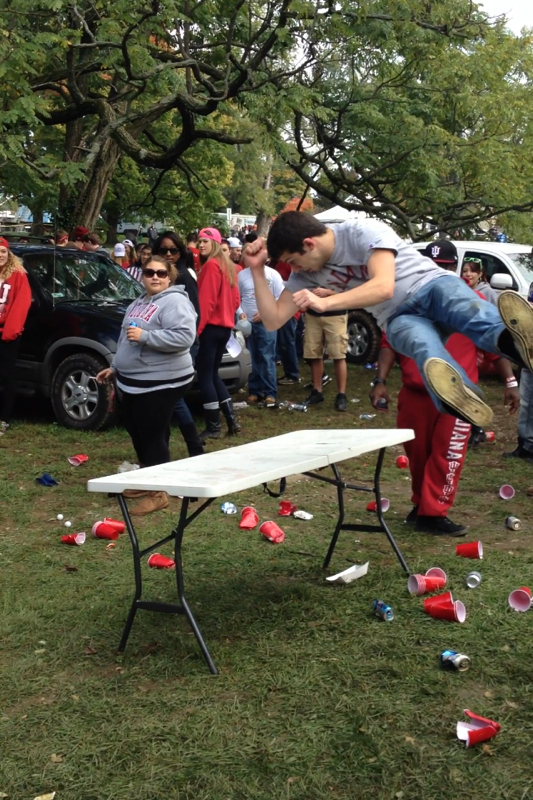 No more flip cup for them. TFM.